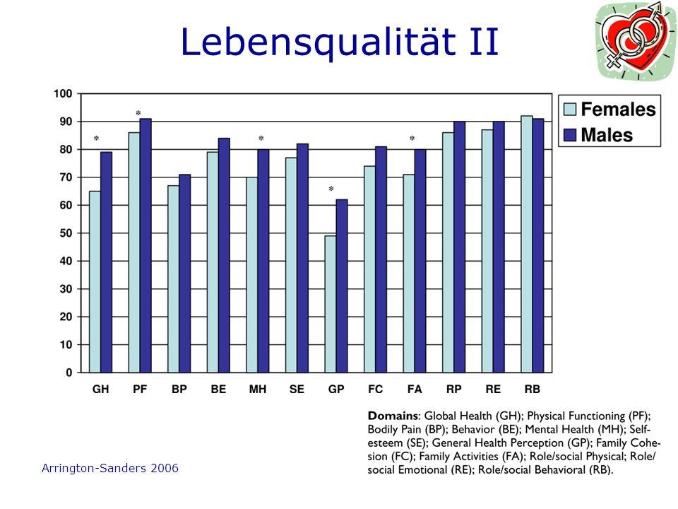 Lebensqualität II Arrington-Sanders 2006