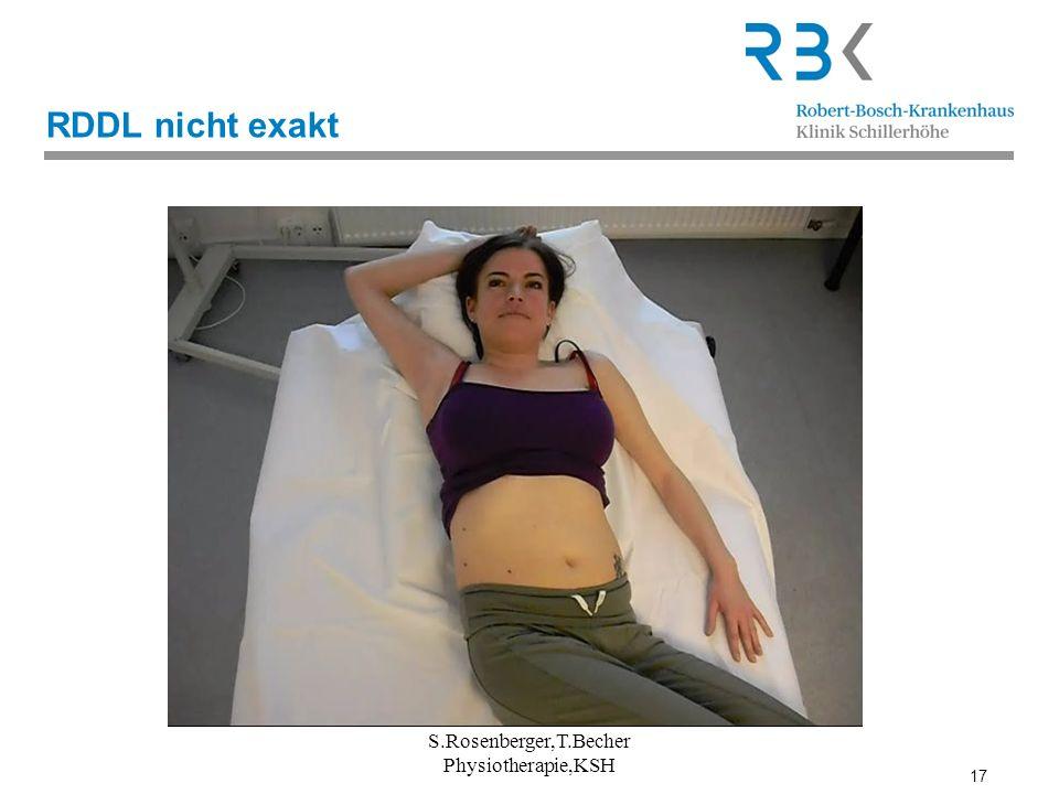 17 RDDL nicht exakt S.Rosenberger,T.Becher Physiotherapie,KSH