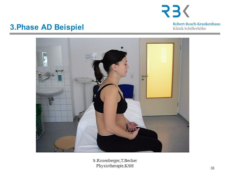 35 3.Phase AD Beispiel S.Rosenberger,T.Becher Physiotherapie,KSH