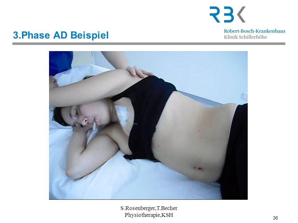 36 3.Phase AD Beispiel S.Rosenberger,T.Becher Physiotherapie,KSH