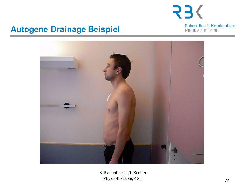 39 Autogene Drainage Beispiel S.Rosenberger,T.Becher Physiotherapie,KSH