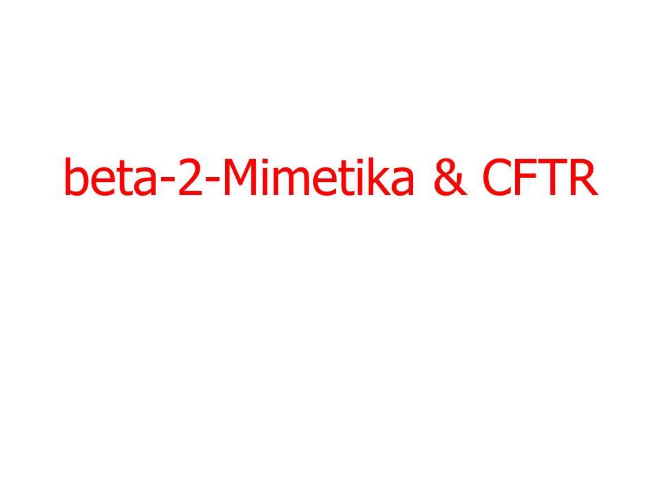 beta-2-Mimetika & CFTR