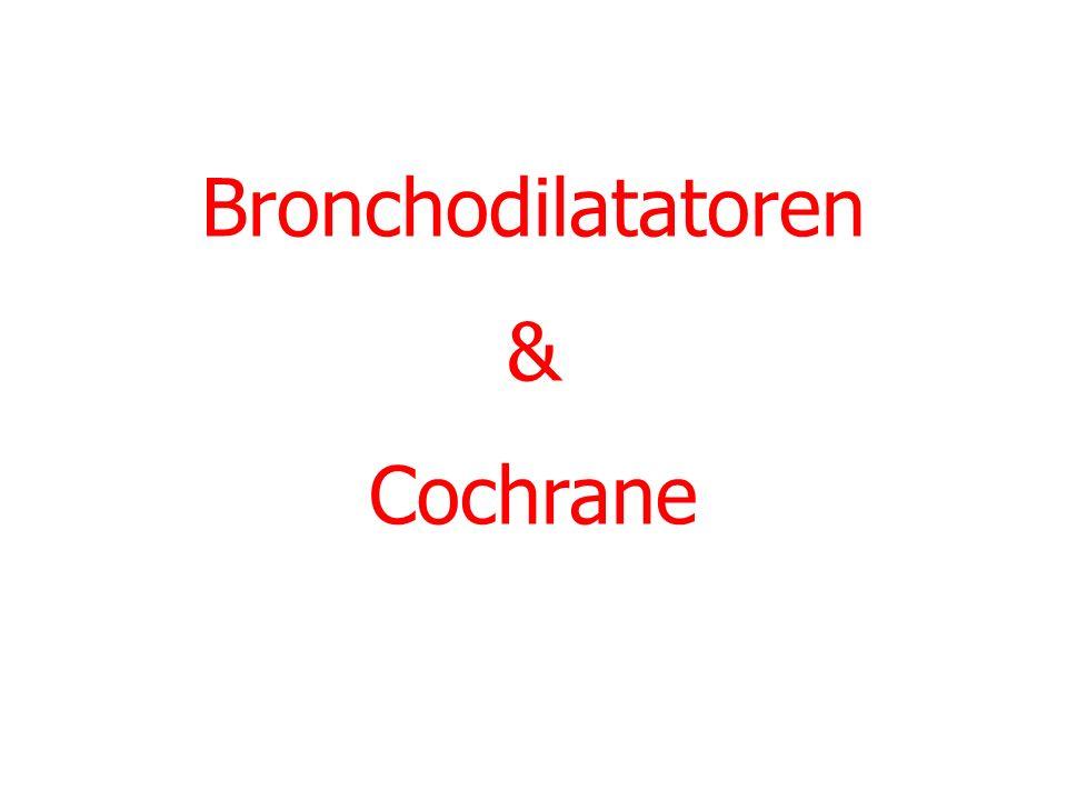 Bronchodilatatoren & Cochrane