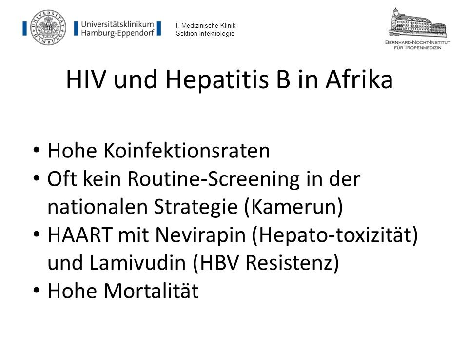 Todesursachen bei HIV Infizierten Konopnicki D et al., AIDS 2005 I.