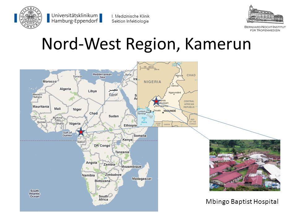 Nord-West Region, Kamerun Mbingo Baptist Hospital I. Medizinische Klinik Sektion Infektiologie