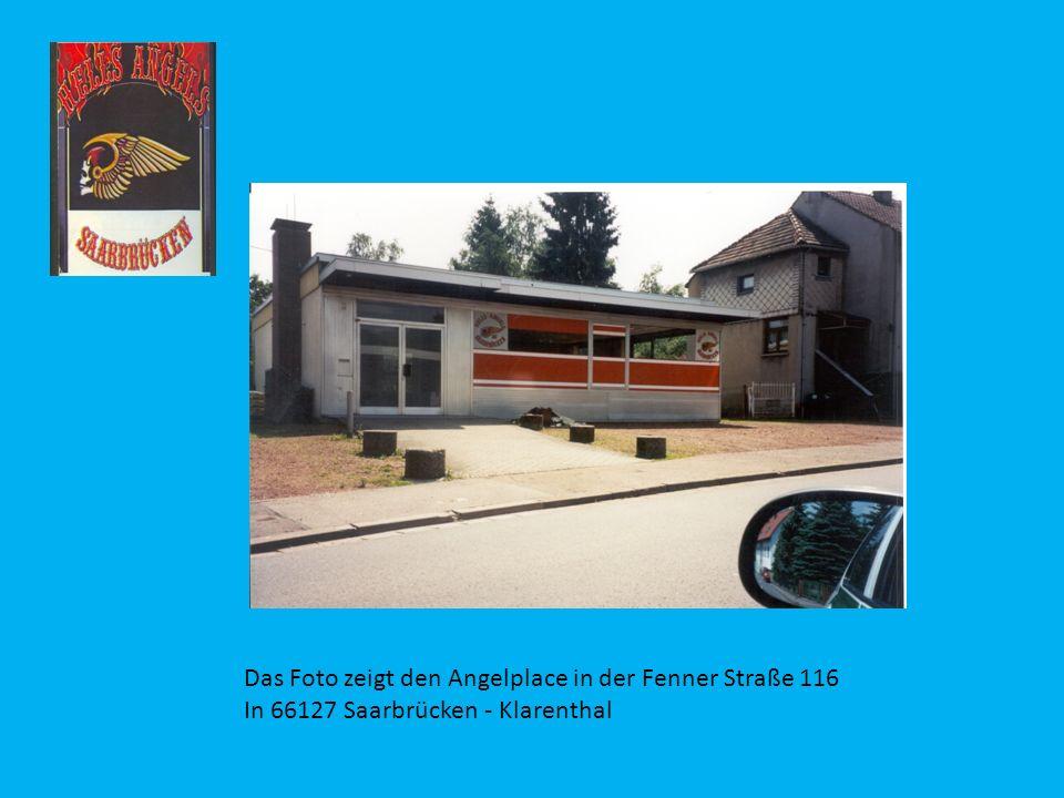 Das Foto zeigt den Angelplace in der Fenner Straße 116 In 66127 Saarbrücken - Klarenthal