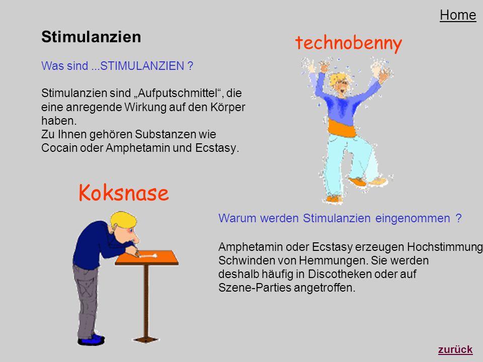 Stimulanzien Was sind...STIMULANZIEN ? Stimulanzien sind Aufputschmittel, die eine anregende Wirkung auf den Körper haben. Zu Ihnen gehören Substanzen