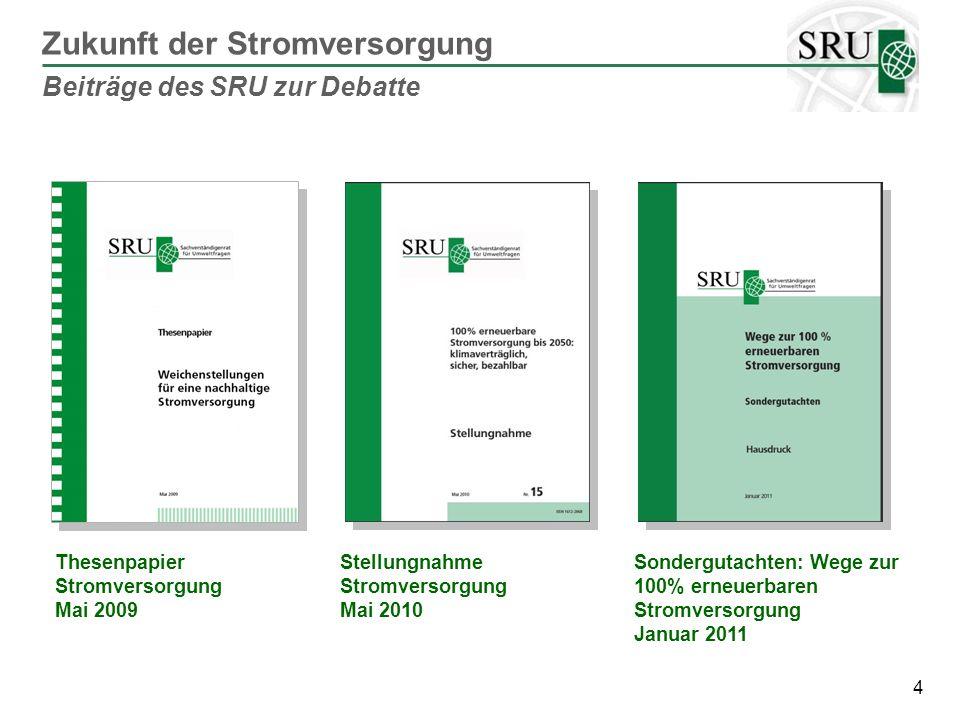 15 Bundesfachplan Übertragungsnetze Planfeststellung SUP/FFH-Vorprüfung UVP/FFH-Vorprüfung Beschleunigung des Netzausbaus Vorschlag des SRU: Zweistufige Fachplanung