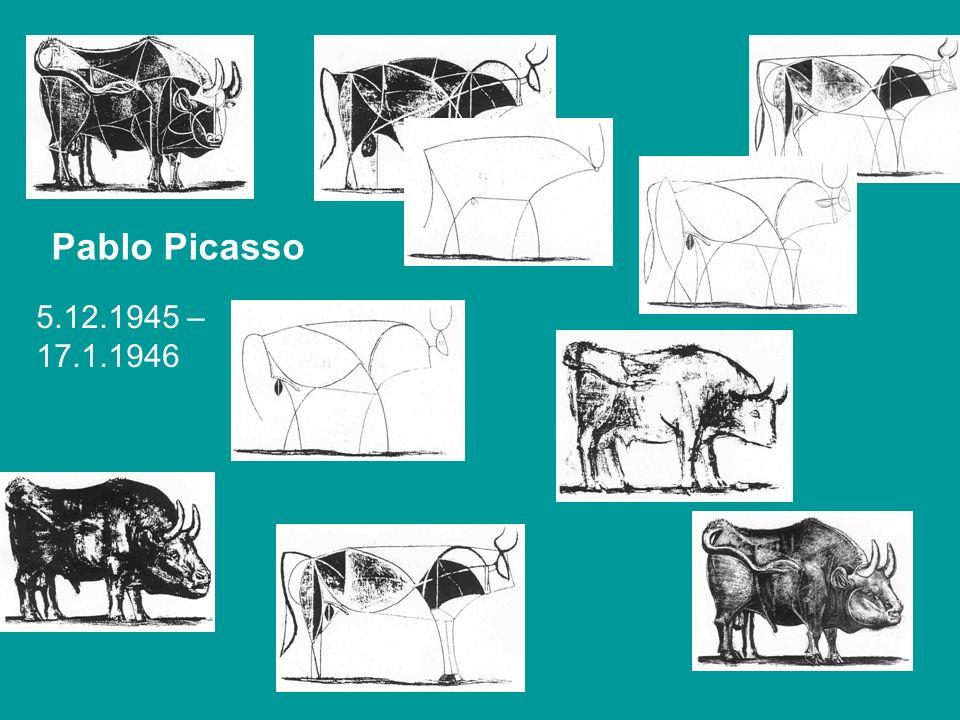 Pablo Picasso 5.12.1945 – 17.1.1946