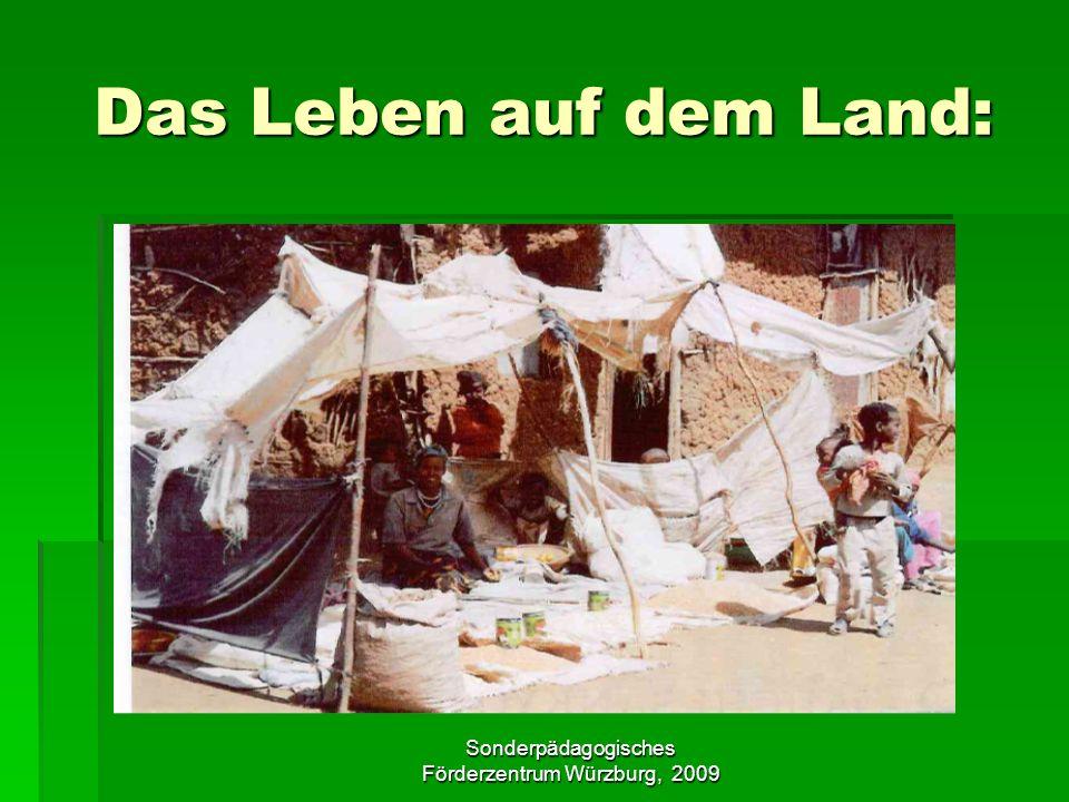 Sonderpädagogisches Förderzentrum Würzburg, 2009 Das Leben auf dem Land: