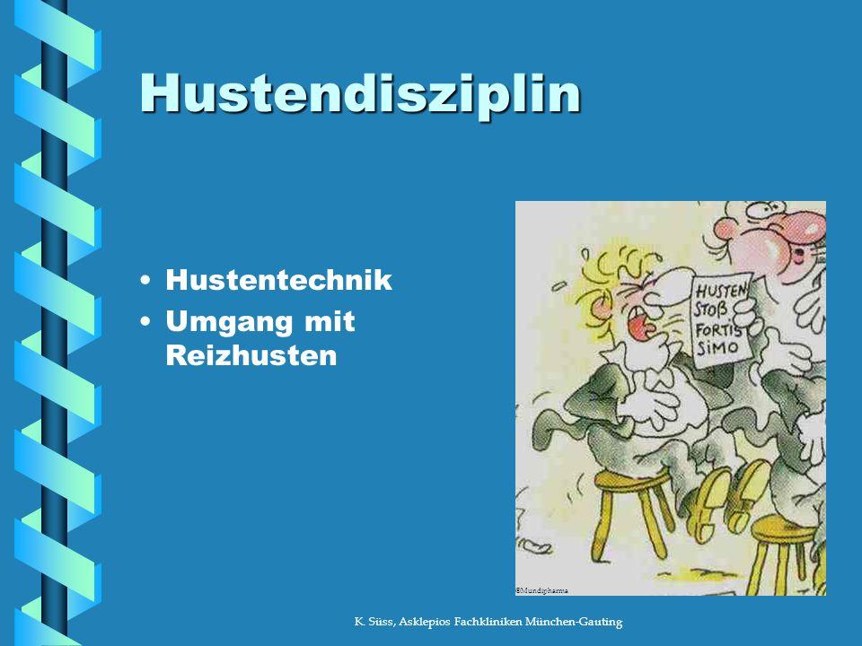K. Süss, Asklepios Fachkliniken München-Gauting Osteoporose Rückenschule Tipps für den Alltag