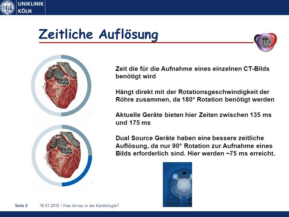 16.01.2010   Was ist neu in der Kardiologie?Seite 3 Bewegung der Koronararterien Wang Y et al.