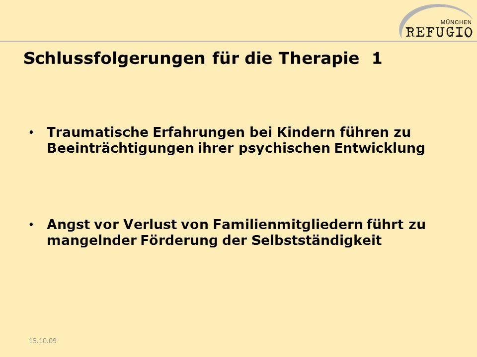 15.10.2009 Fachtag Familienentwicklung nach Trauma und Migration