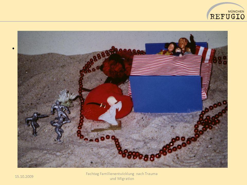 15.10.2009 Fachtag Familienentwicklung nach Trauma und Migration 7 Ich soll meine Eltern unterstützen und pflegen, … denn sie sind schwach und krank.