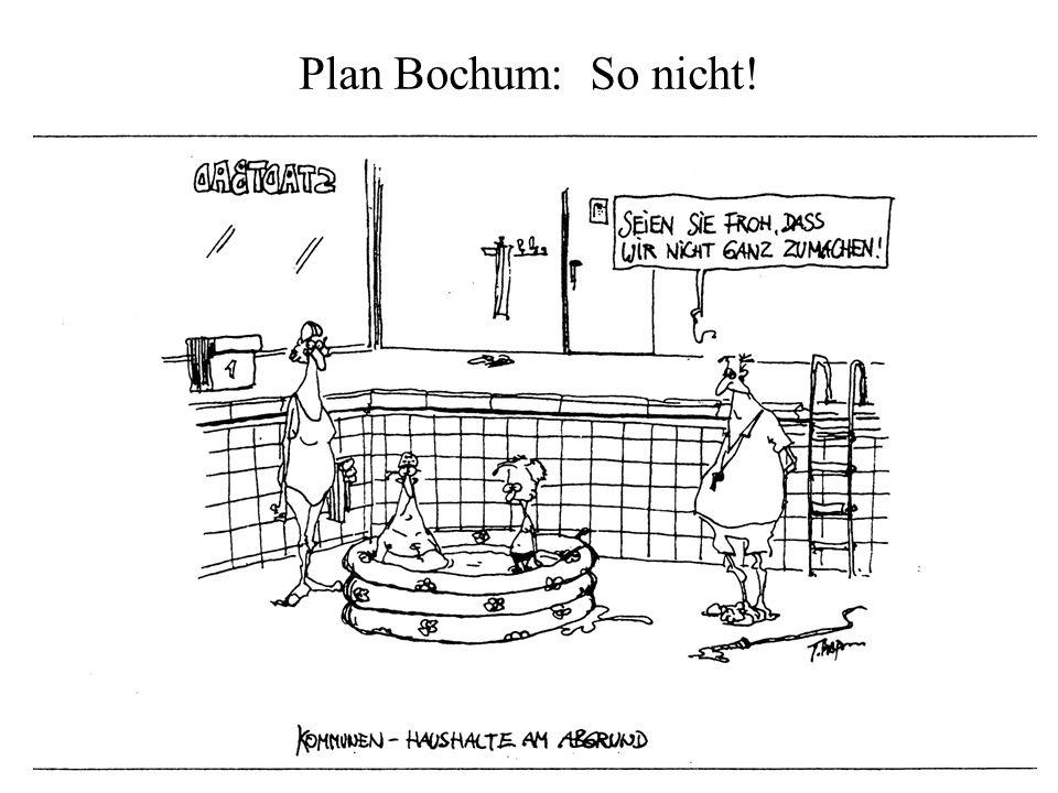 Plan Bochum: So nicht!