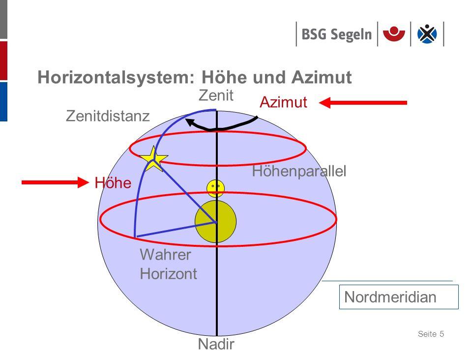 Seite 6 Horizontalsystem