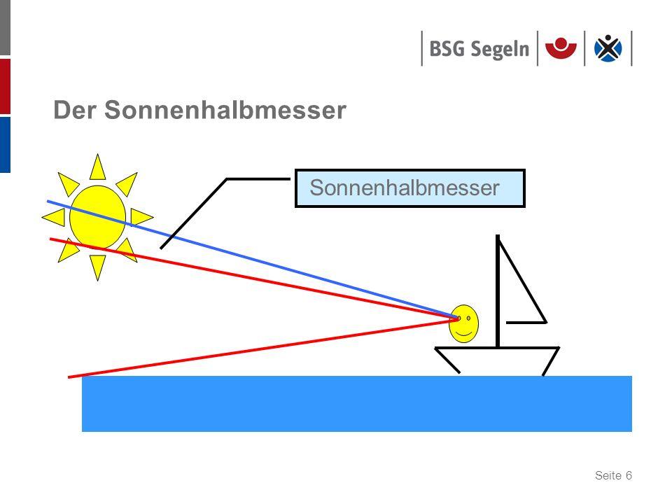 Seite 6 Der Sonnenhalbmesser Sonnenhalbmesser