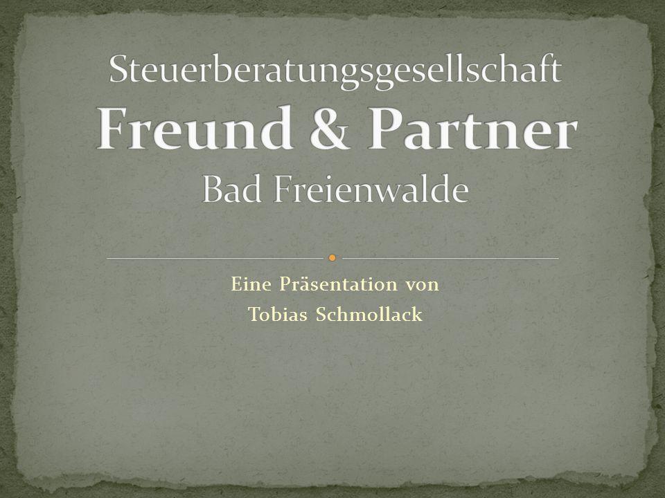 Eine Präsentation von Tobias Schmollack