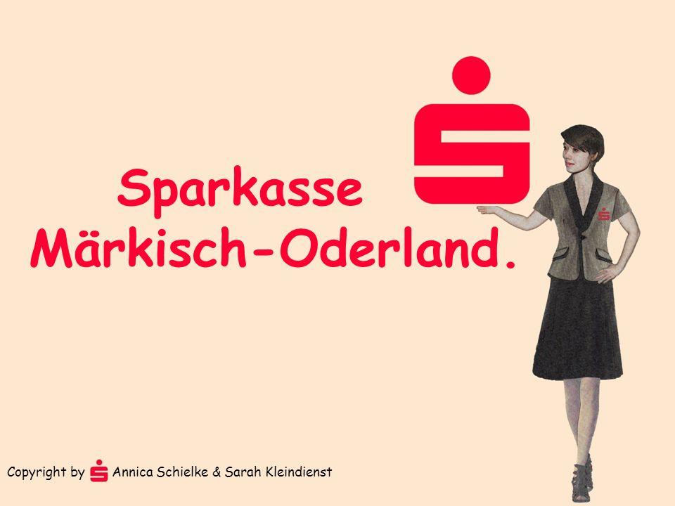Sparkasse Märkisch-Oderland. Copyright by Annica Schielke & Sarah Kleindienst