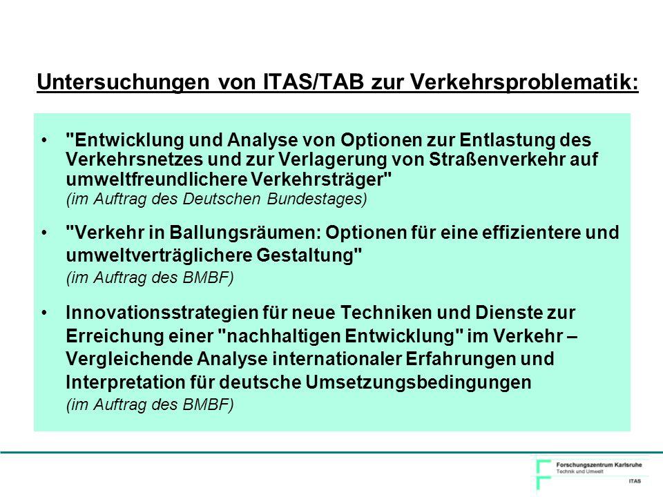 Ausgewählte Ergebnisse von Simulationsrechnungen für Telematikdienste im Modellballungsraum München Häufig sind einfache organisatorische Maßnahmen effektiver als ausgefeilte technische Lösungen.