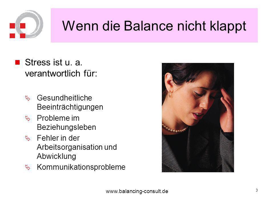 www.balancing-consult.de 14 Worum geht es wirklich.