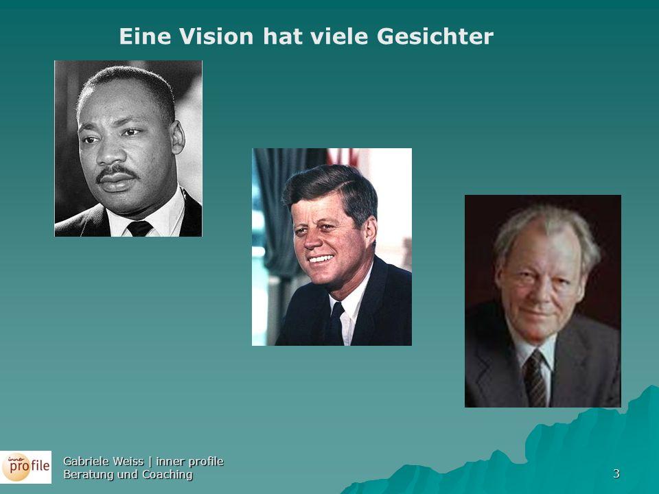 3 Eine Vision hat viele Gesichter Gabriele Weiss | inner profile Beratung und Coaching