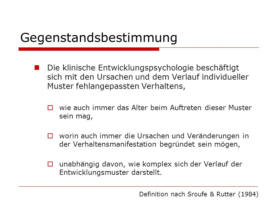 Bedeutung für die Diagnostik Die großen psychiatrischen Klassifikationssysteme ICD- 10 und DSM-IV berücksichtigen Entwicklungsaspekte kaum.