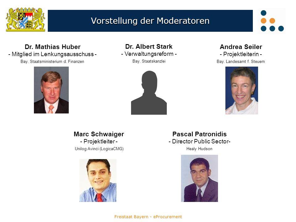 Vorstellung der Moderatoren Pascal Patronidis - Director Public Sector- Healy Hudson Marc Schwaiger - Projektleiter - Unilog Avinci (LogicaCMG) Andrea