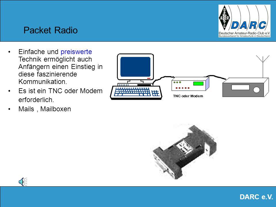 DARC e.V. Datenfunk Amateurfunker haben ein weltweites Datenfunknetz ! Sogar mit preiswerten Handfunkgeräten kann man sich in das UKW-Netz einloggen u