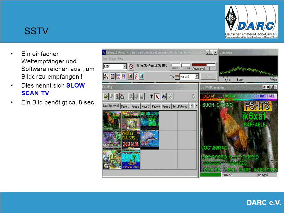 DARC e.V. PSK 31 im Detail PSK steht für: Phase Shift Keying. D.h. im Sender werden die Signale phasenmoduliert codiert und im Empfänger wieder decodi
