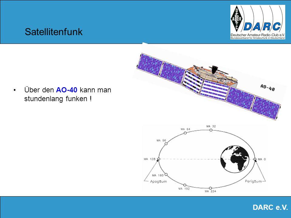 DARC e.V. Satellitenfunk Der Amateur- Satellit AO-40 ist ein sehr moderner und leistungsfähiger Satellit Hier während der Montage