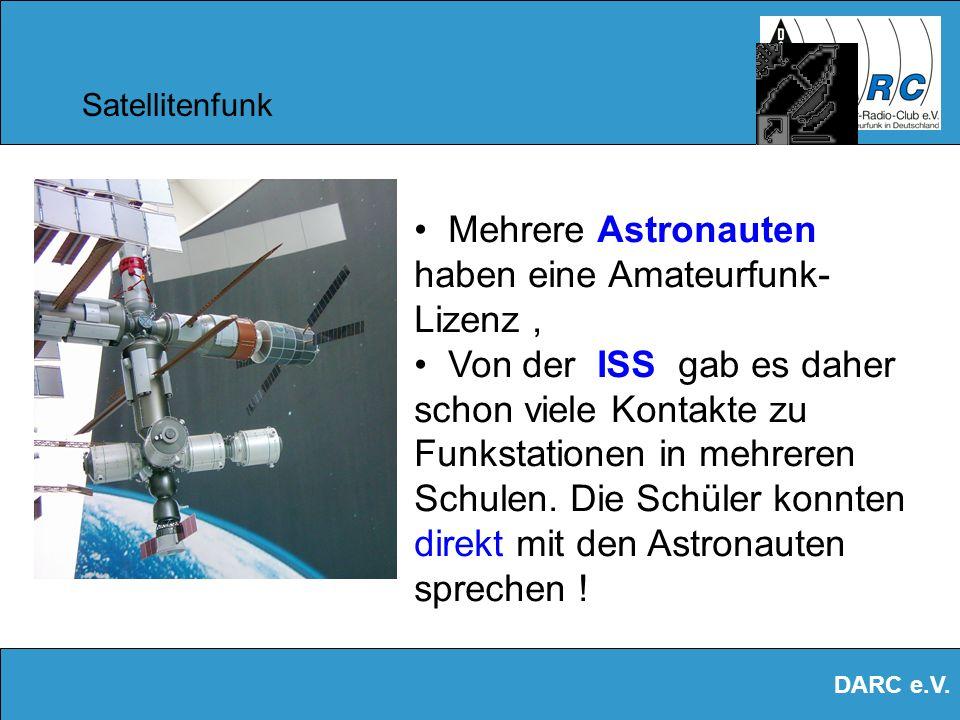 DARC e.V. Satellitenfunk Empfang des AO-40 mit einfachen Mitteln ! Converter, Spiegel Funkgerät Laptop / PC