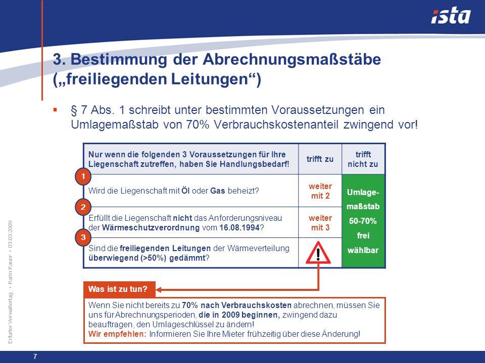 33 57 131 218 71 31 255 153 0 224 237 Erfurter Verwaltertag Karin Kauer 03.03.2009 8 zu 3.