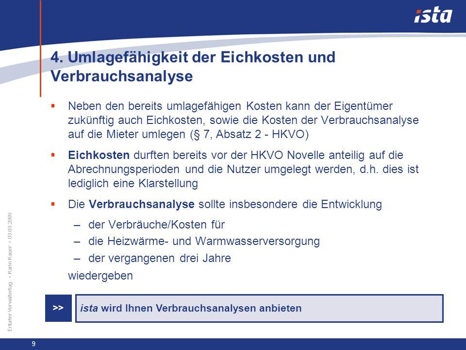 33 57 131 218 71 31 255 153 0 224 237 Erfurter Verwaltertag Karin Kauer 03.03.2009 10 5.