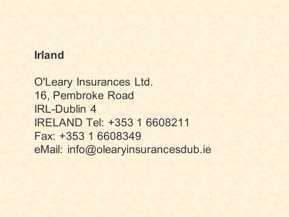 Irland O Leary Insurances Ltd.