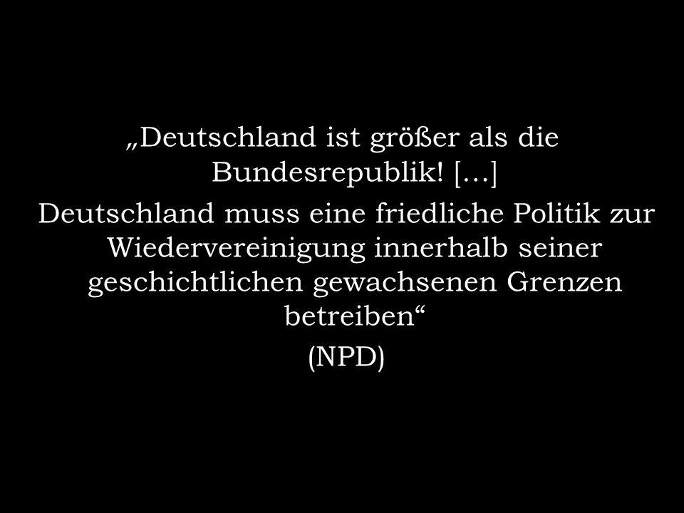 Deutschland ist größer als die Bundesrepublik.