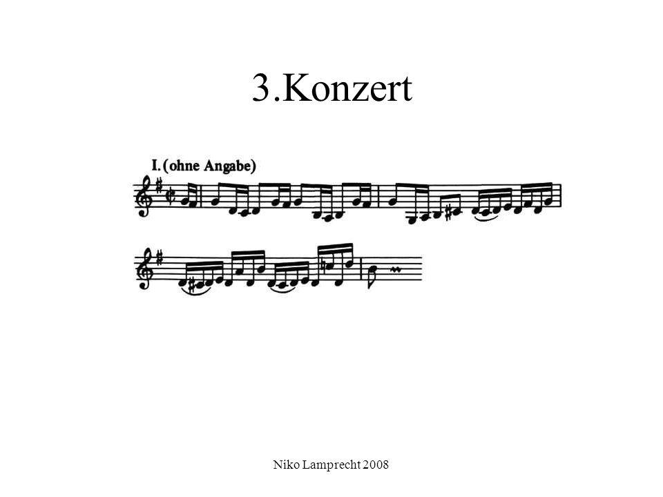 Niko Lamprecht 2008 3.Konzert