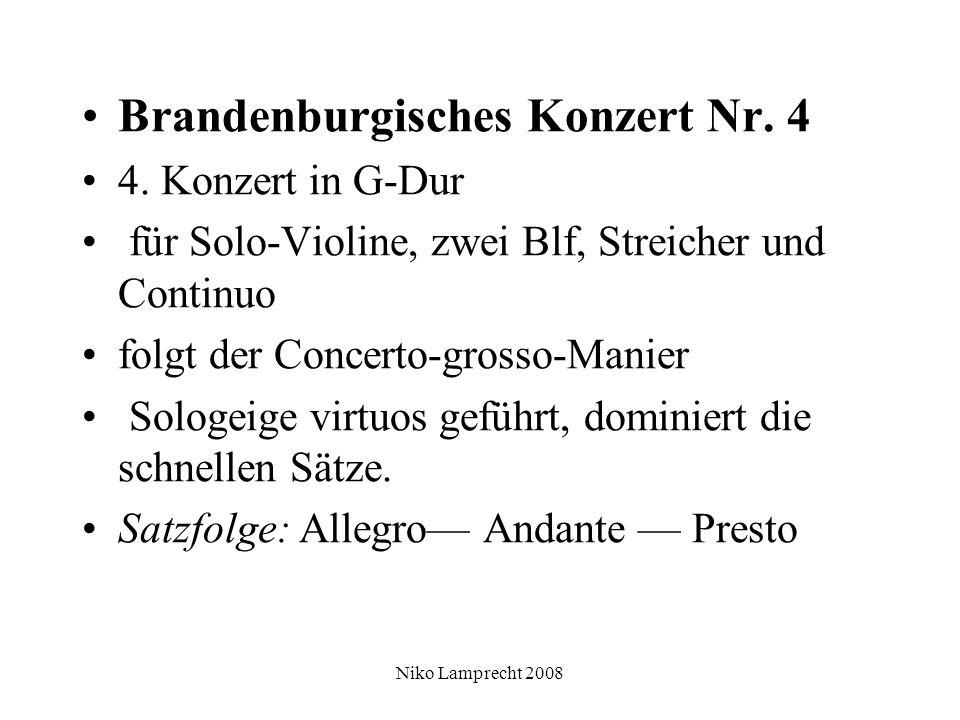 Niko Lamprecht 2008 Brandenburgisches Konzert Nr. 4 4.