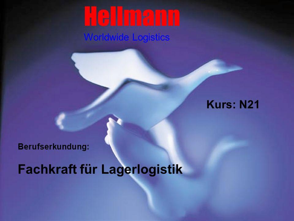 Hellmann Worldwide Logistics Fachkraft für Lagerlogistik Berufserkundung: Kurs: N21