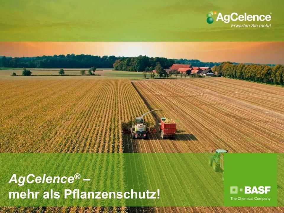 AgCelence ® – mehr als Pflanzenschutz!