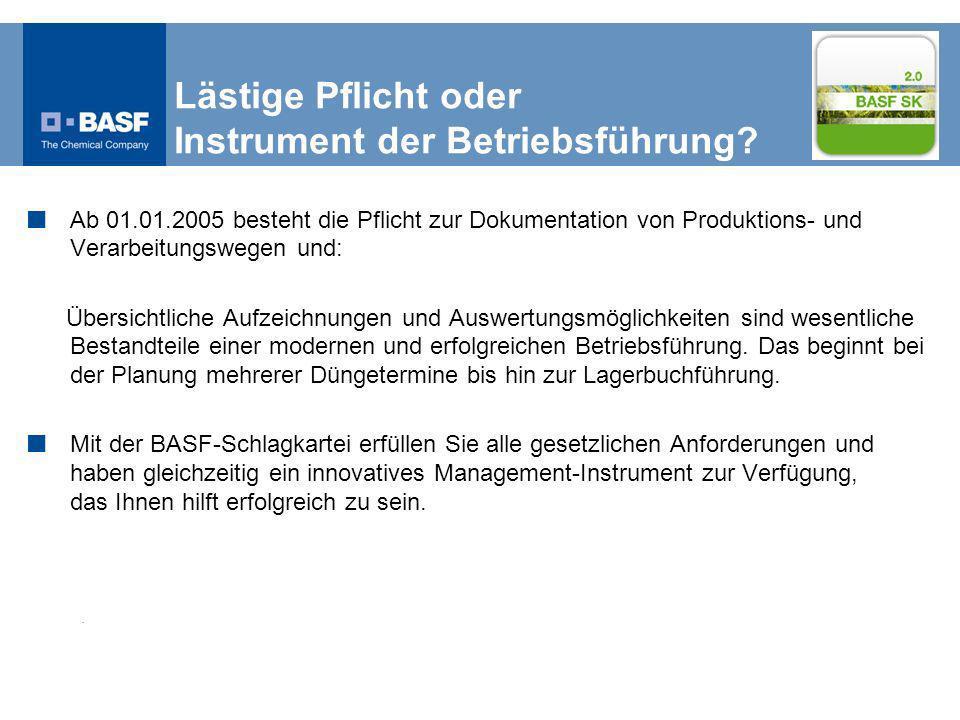 Lästige Pflicht oder Instrument der Betriebsführung.