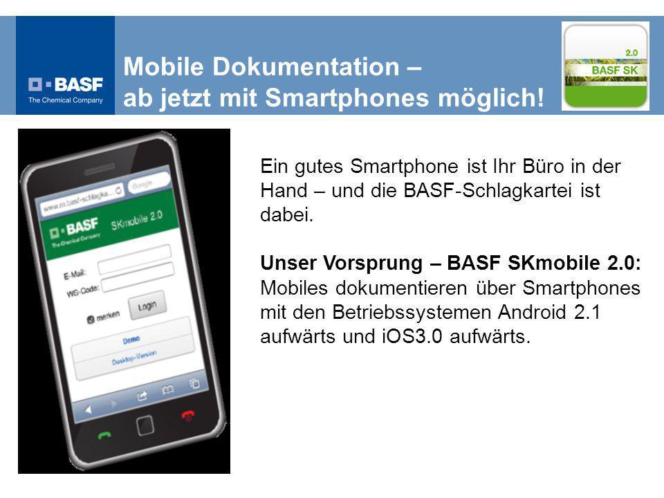 Mobile Dokumentation – ab jetzt mit Smartphones möglich.