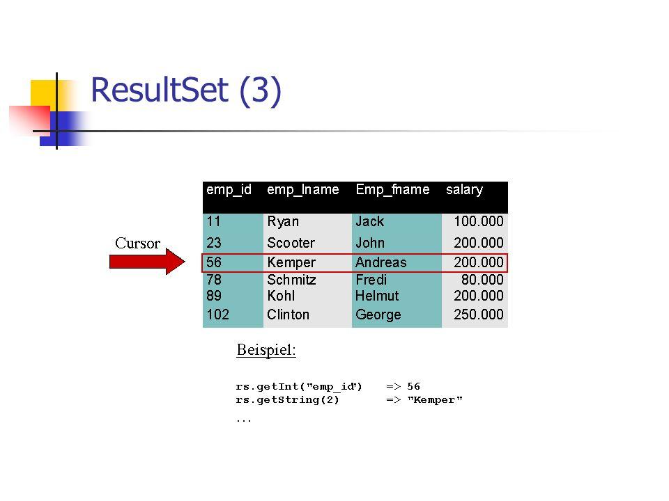 ResultSet (3)