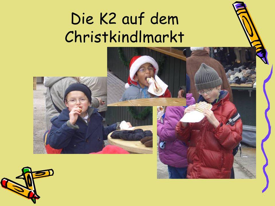 Die K2 auf dem Christkindlmarkt