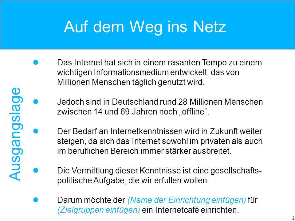 2 Das Internet hat sich in einem rasanten Tempo zu einem wichtigen Informationsmedium entwickelt, das von Millionen Menschen täglich genutzt wird.