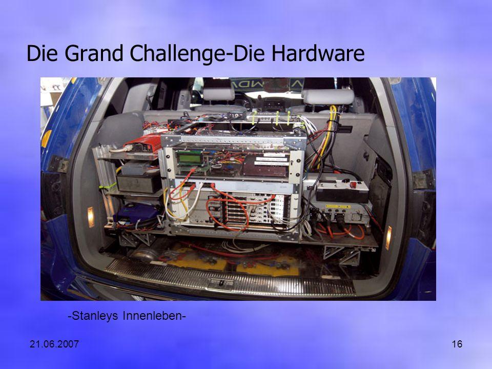 21.06.200716 Die Grand Challenge-Die Hardware -Stanleys Innenleben-