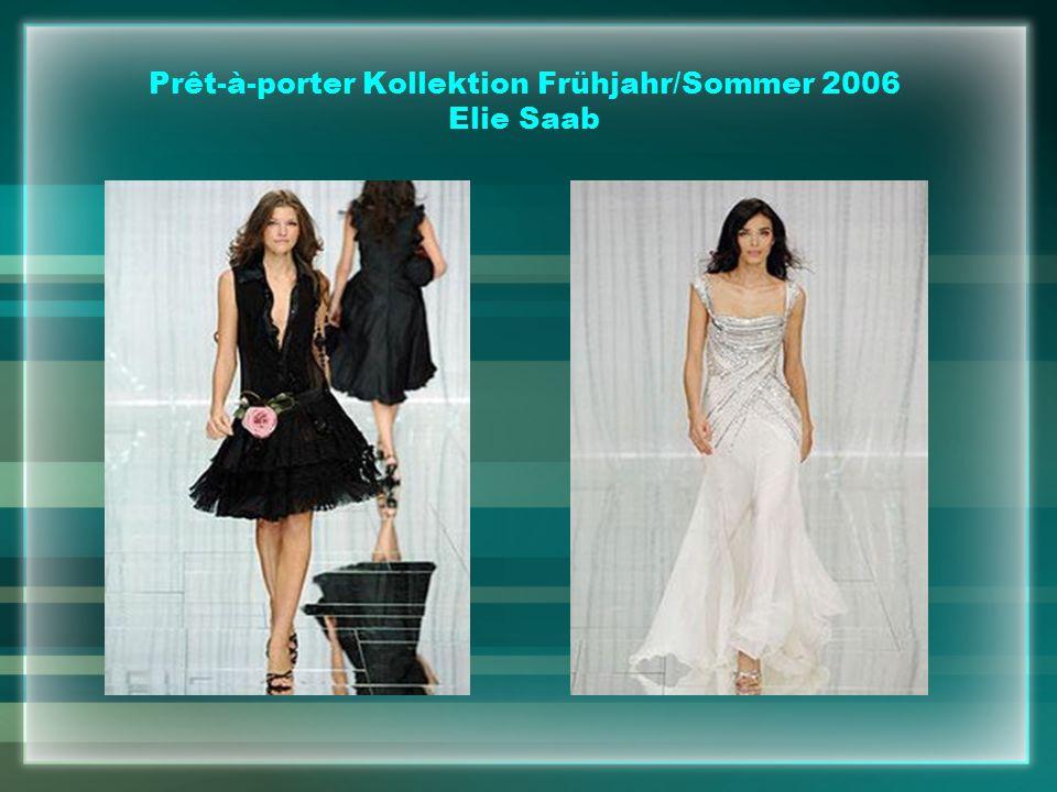 Prêt-à-porter Kollektion Frühjahr/Sommer 2006 Elie Saab