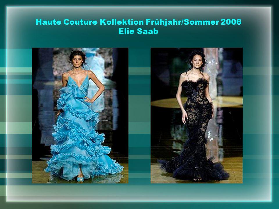 Haute Couture Kollektion Frühjahr/Sommer 2006 Elie Saab