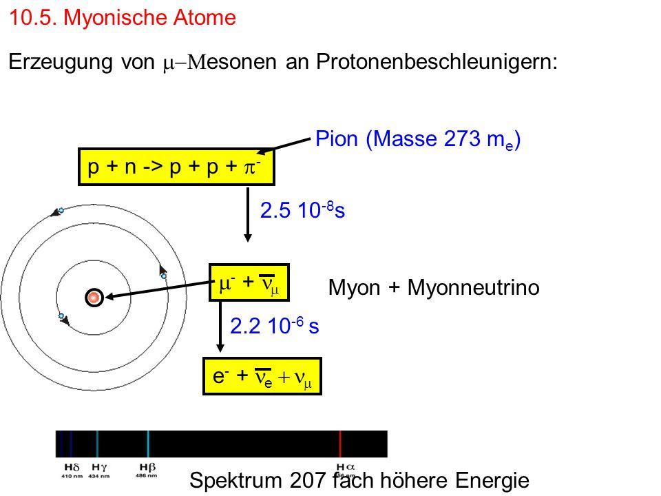 10.5.Myonische Atome Wozu.