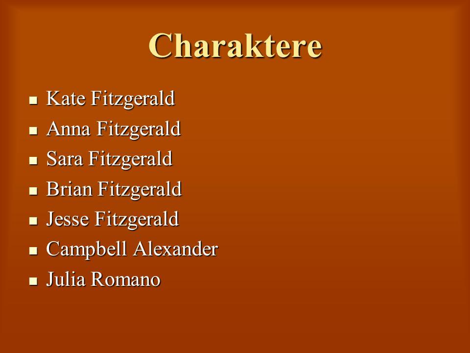 Charaktere Kate Fitzgerald Kate Fitzgerald Anna Fitzgerald Anna Fitzgerald Sara Fitzgerald Sara Fitzgerald Brian Fitzgerald Brian Fitzgerald Jesse Fit